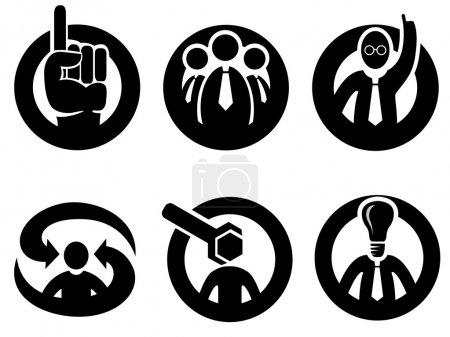 Expert opinion, decision or tip symbols
