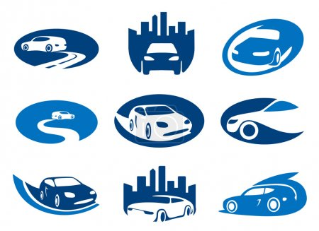 Car elements for your logo
