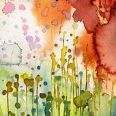 Artistic background watercolor