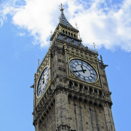 Photo for The Iconic world famous Big Ben in the heart of central London - Royalty Free Image