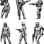 Постер, плакат: Amazon Cyborgs