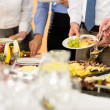 Business catering food for company formal celebrat...