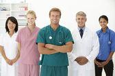 Portrét lékařských profesionálů