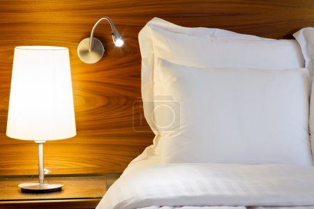 Photo for Bedroom modern design with furnishings - Royalty Free Image