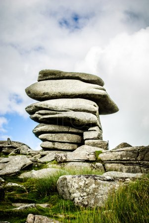 The Cheesewring stones Minons Cornwall
