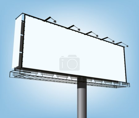 Vector advertising construction