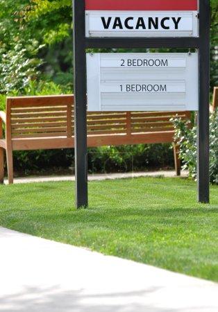 Photo pour Signe de vacance Location Appartement - image libre de droit