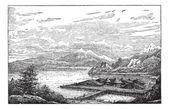 Neolithic Lake-dwelling Station in Latringen Switzerland durin