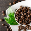 Coffee background with place for text...