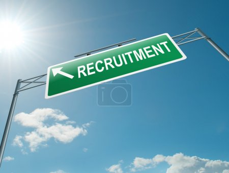 Recruitment concept.