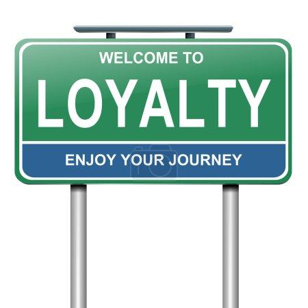 Loyalty concept.
