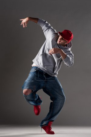 Picture of dancing man