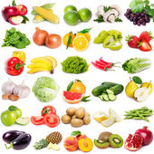 "Постер, картина, фотообои ""Collection of fruits and vegetables"""