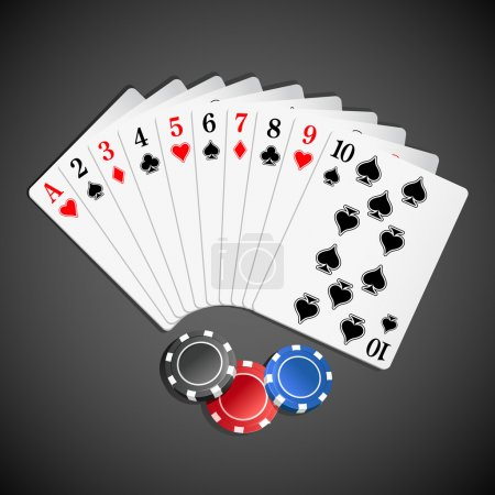 Playing Card with Poker