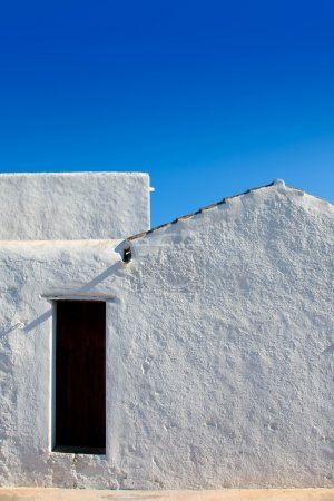 Ibiza Santa Agnes whitewashed houses