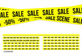 Criminal sale ribbons