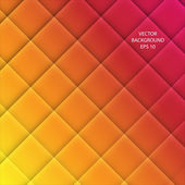 Vector Abstract squared background - yellow orange and red