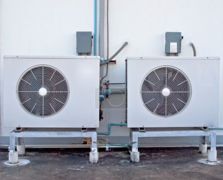 Two air conditioning