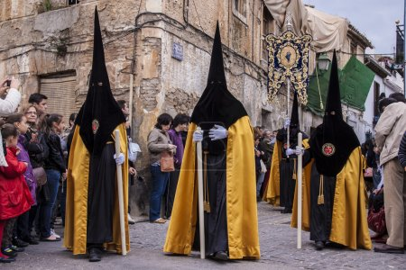 The extraordinarily Christian procession of the Holy Week.