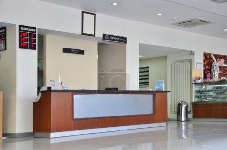 Photo pour Hall d'entrée vide et réception - image libre de droit