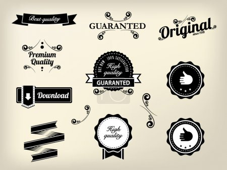 Calligraphic design elements and page decoration, High Quality a