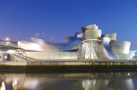 Guggenheim Museum and Nervion river