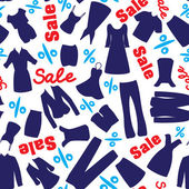 Seamless pattern for clearance