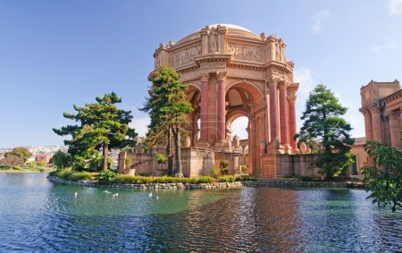 Historic Palace of Fine Arts in San Francisco...