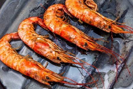 Shrimp grilled