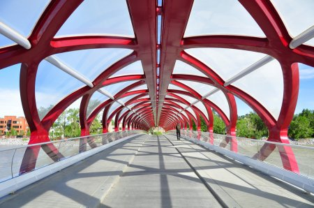 Calgary's Peace Bridge