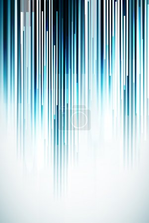 Illustration for Abstract vector lines background with copy space - Royalty Free Image