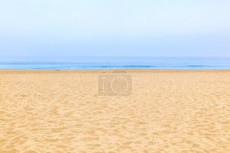 Photo for Empty beach in the morning - Royalty Free Image