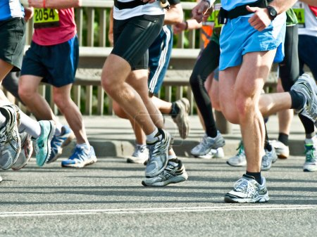 Photo for Marathon runners - Royalty Free Image