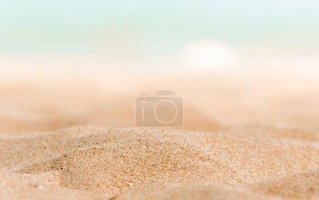 gros plan du peu de sable sur le rivage