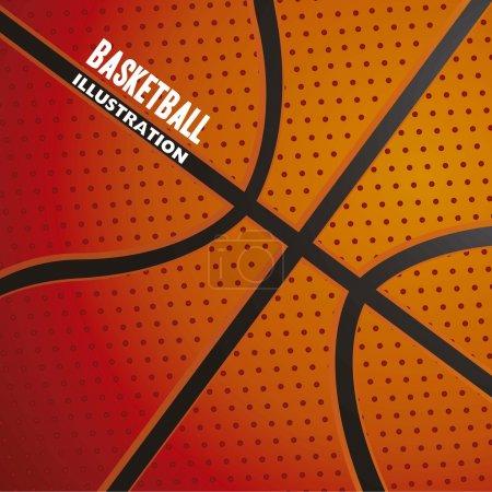 Basketball ball pattern