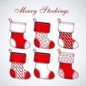 Red Christmas stockings