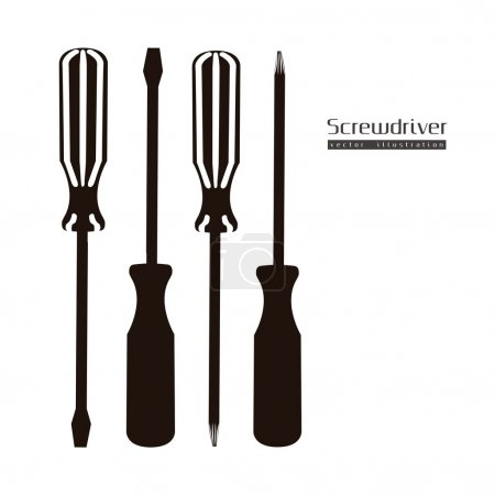 silhouette Screwdrivers