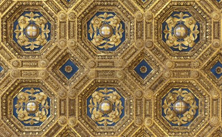 Golden roof in Palazzo Vecchio
