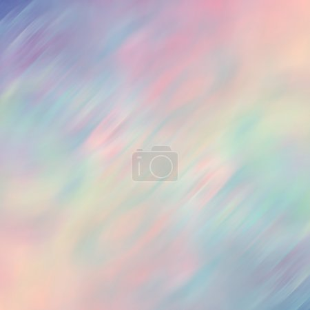 Photo for Abstract smudge background in pastel colors - Royalty Free Image