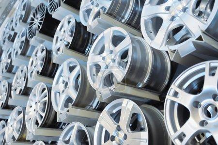 Various alloy wheels