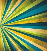 Multicolor beams grunge background A vintage poster