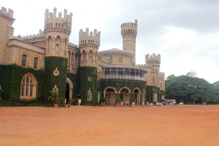 Photo of Majestic and iconic Bangalore Royal Palace located in t
