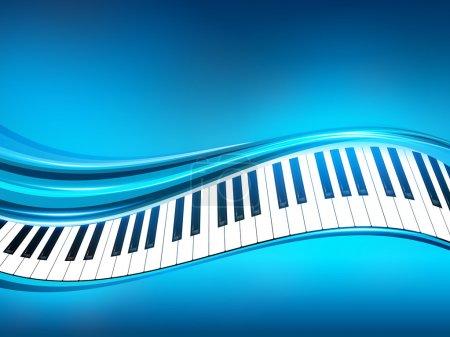 Illustration pour Résumé historique musical - image libre de droit