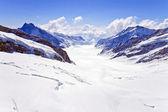 Aletsch alps glacier Switzerland