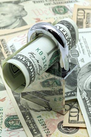 Cash Saving Insurance Concept