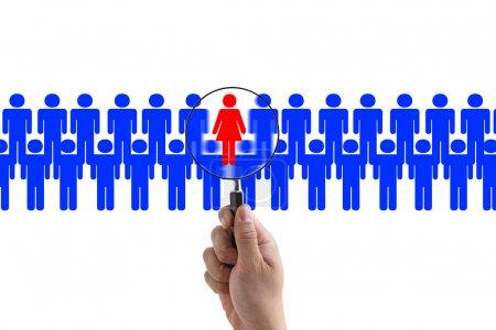Woman recruitment