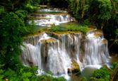 Grand Tropical Waterfall