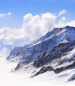 Aletsch alps glacier Switzerland