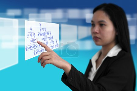 Job Seeking Recruitment Concept