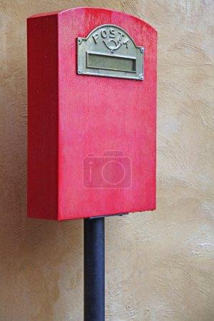 Red Italian Postal Box